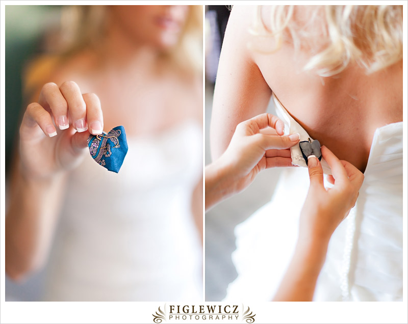 Wedding Gift Ideas Something Blue : This was my favorite detail of the whole wedding! Bayley made a heart ...