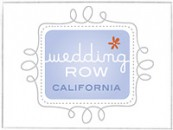 Wedding-Row-California