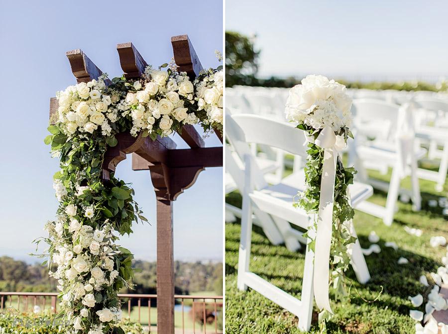Wedding Photography Figlewicz Ceremony Location Palos Verdes Golf Club