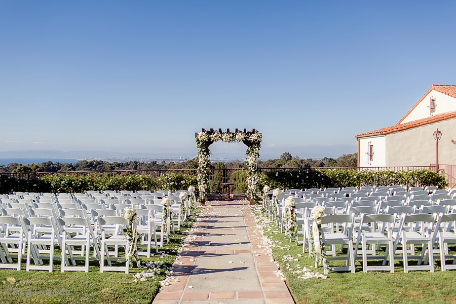 Wedding Photography Figlewicz Ceremony Location Palos Verdes