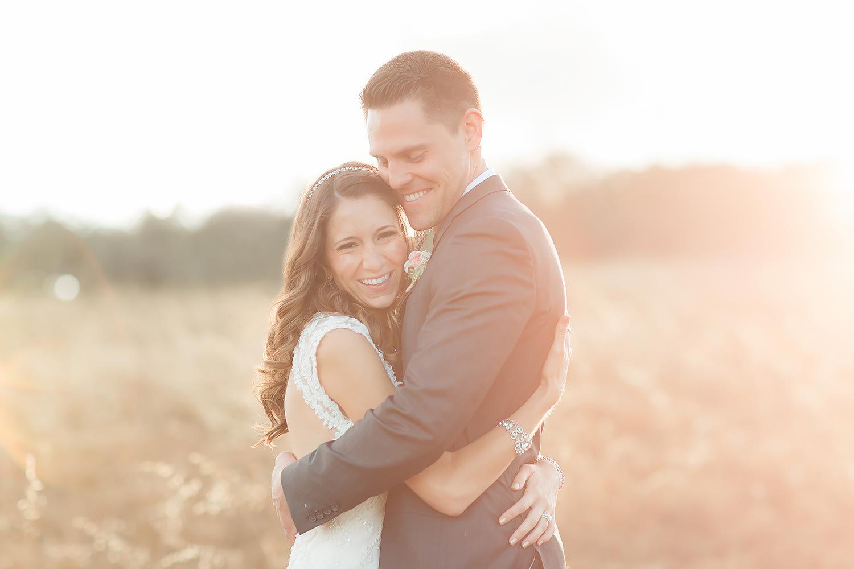 Couples embrace