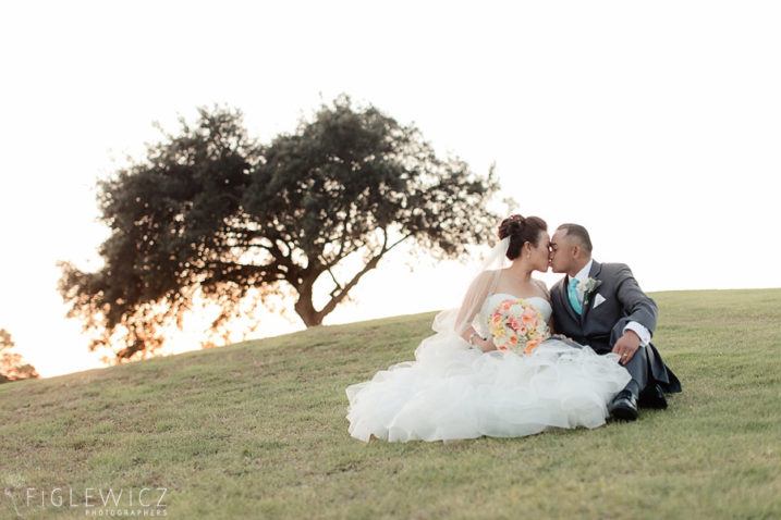 Golf course wedding in Palos Verdes
