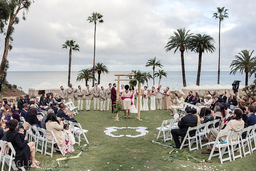 Descanso Beach Wedding Catalina