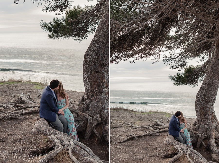 Palos Verdes Cliffside Engagement