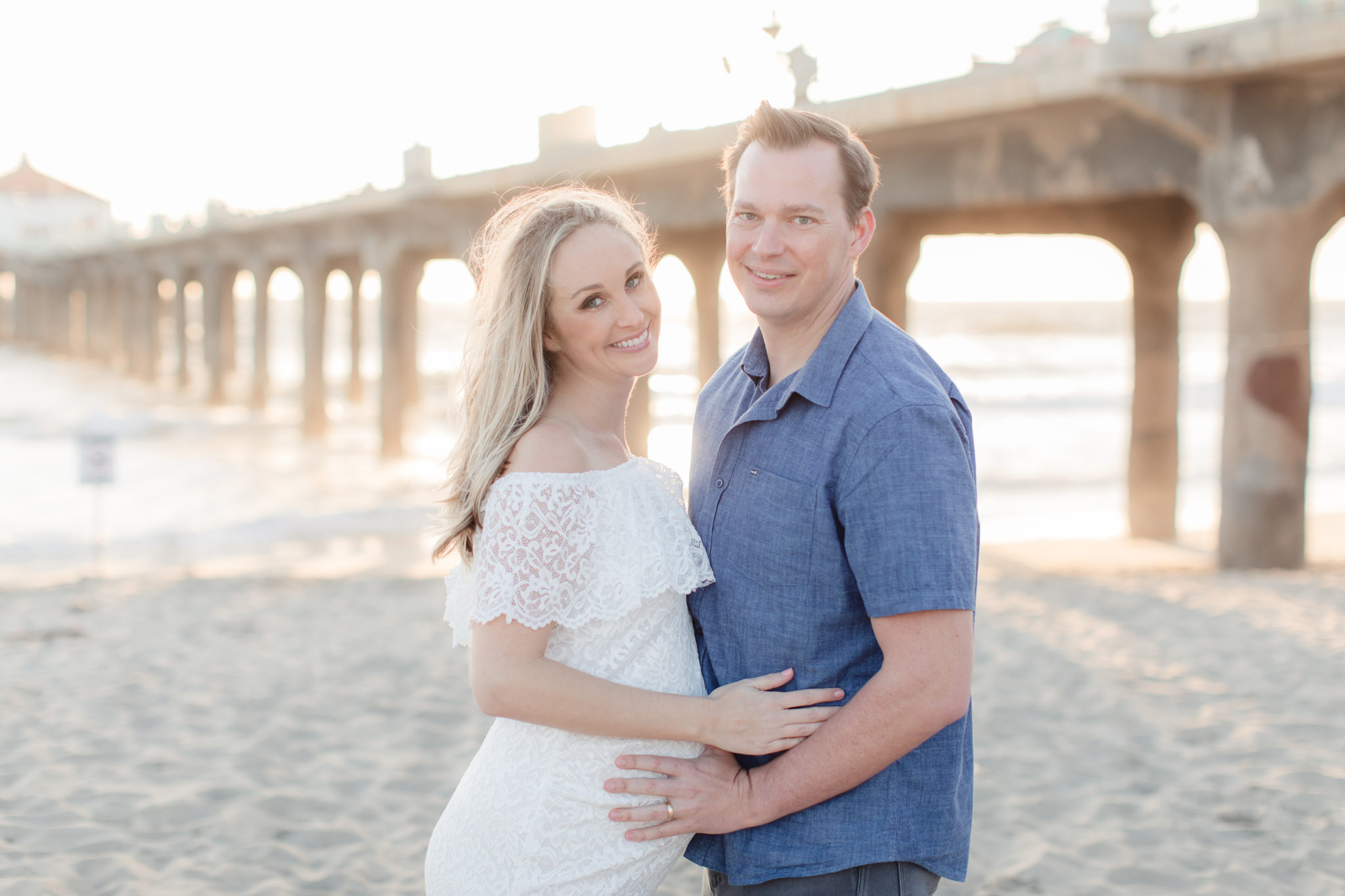 Manhattan Beach Maternity Portraits