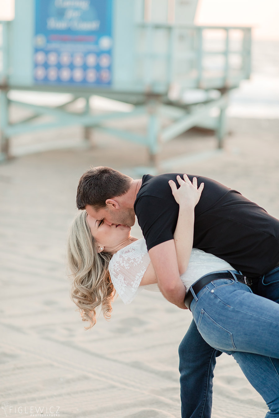 Palos Verdes Estates Cliff Side Engagement