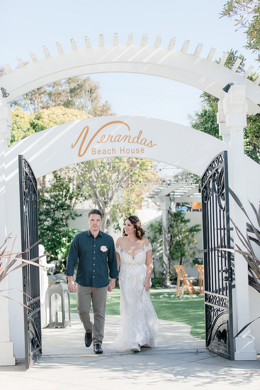 Intimate Verandas Beach House Wedding