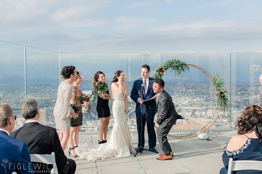 OUE Skyspace Wedding