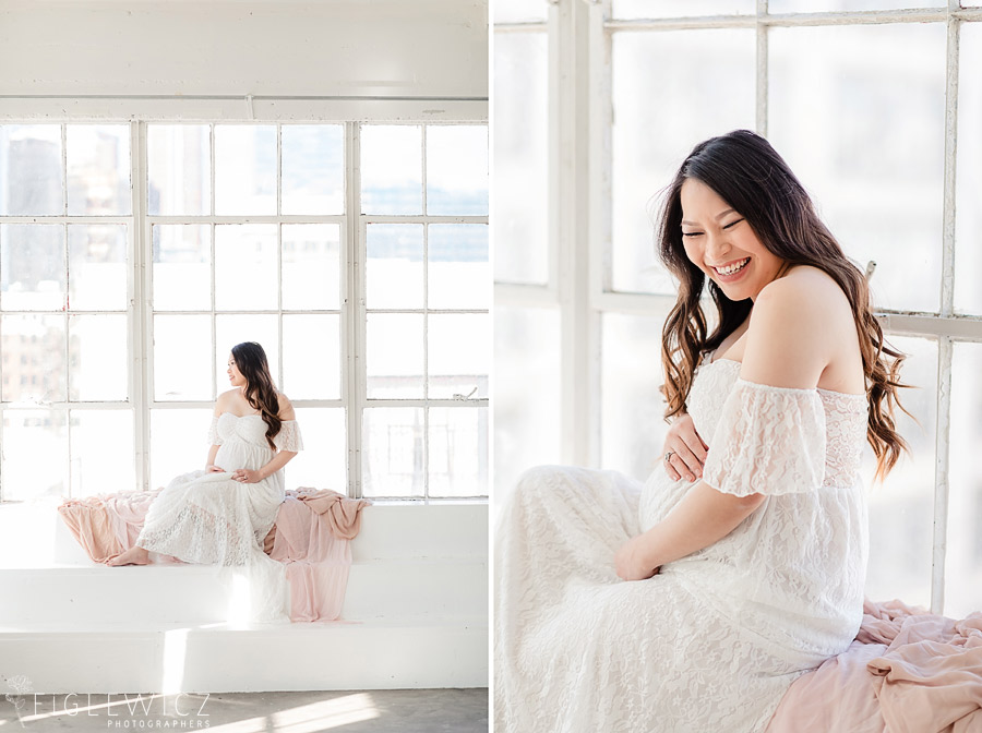 In Studio Maternity Portraits