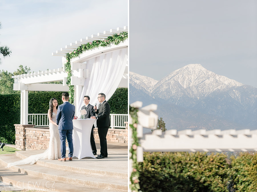 Mountain Meadows Golf Course Wedding
