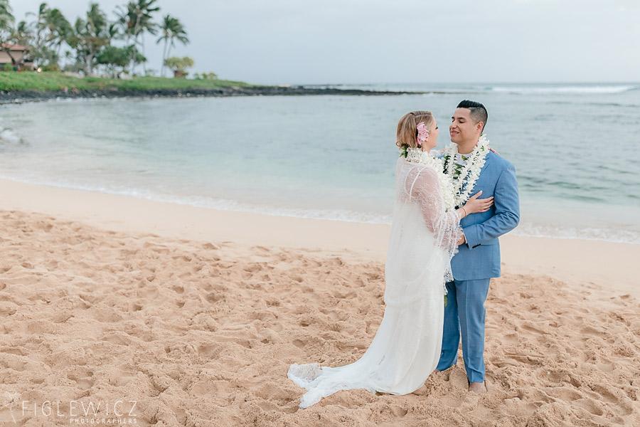 Intimate Kauai Poipu Wedding