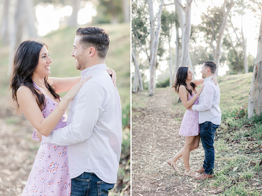 Palos Verdes Flower Field Engagement