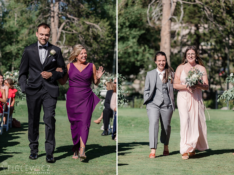 Squaw Valley Creek Wedding