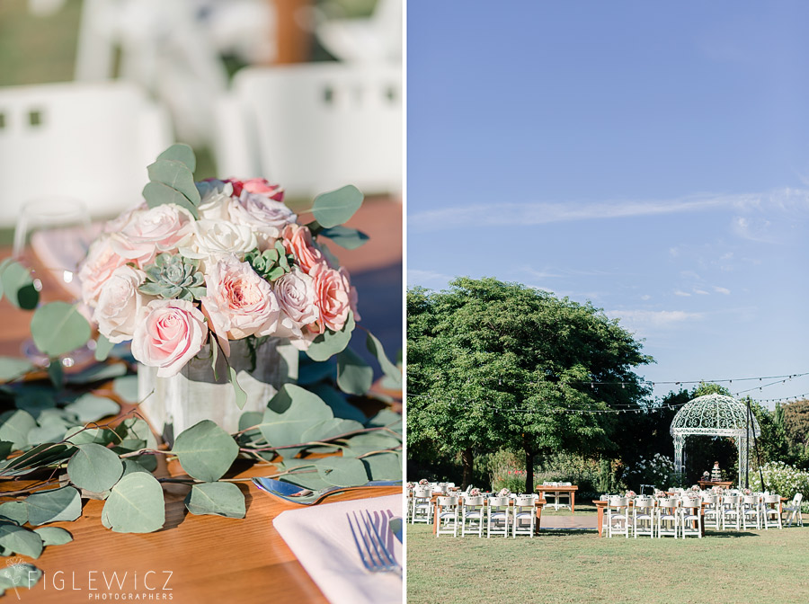 south coast botanic gardens wedding reception