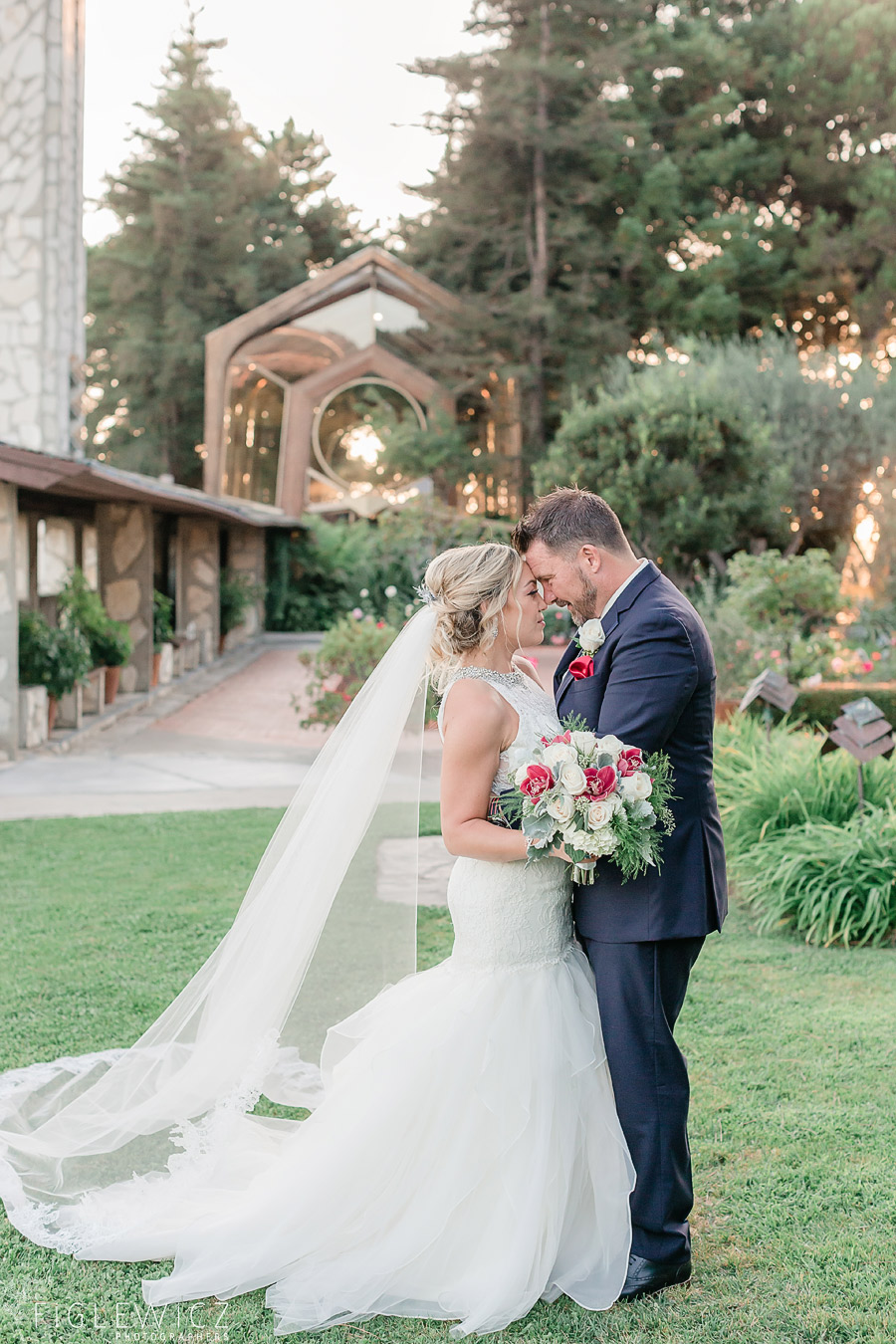 Wayfarers Chapel Wedding