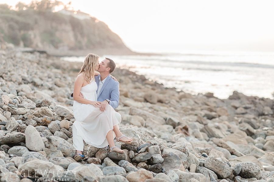 Palos Verdes Beach Engagement