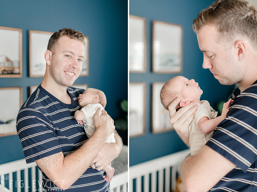 In Home Baby Portraits