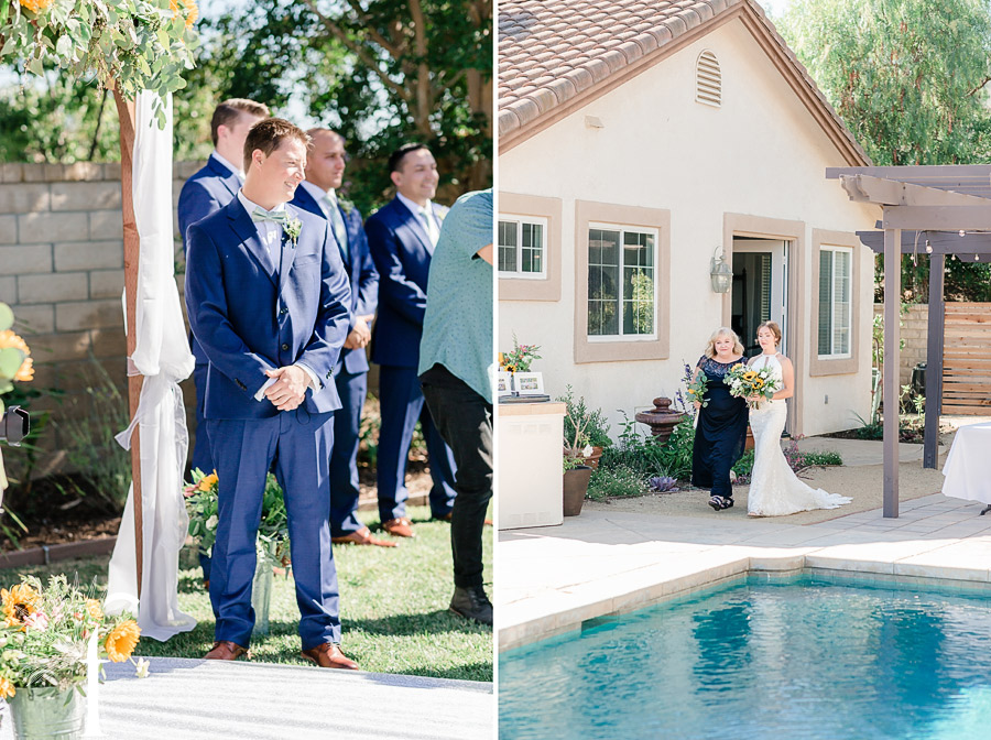 Backyard Wedding Simi Valley