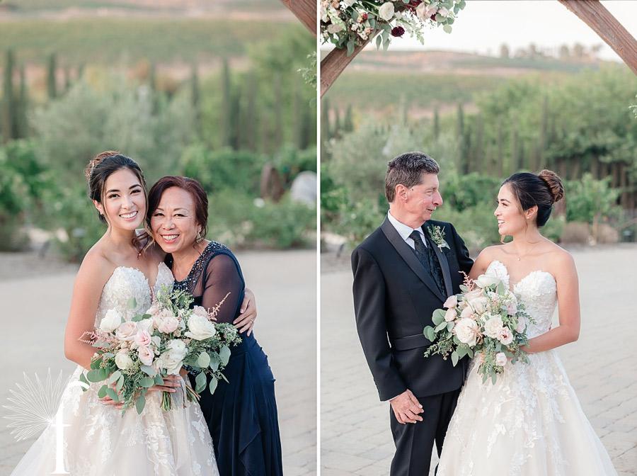 Peltzer Winery Wedding