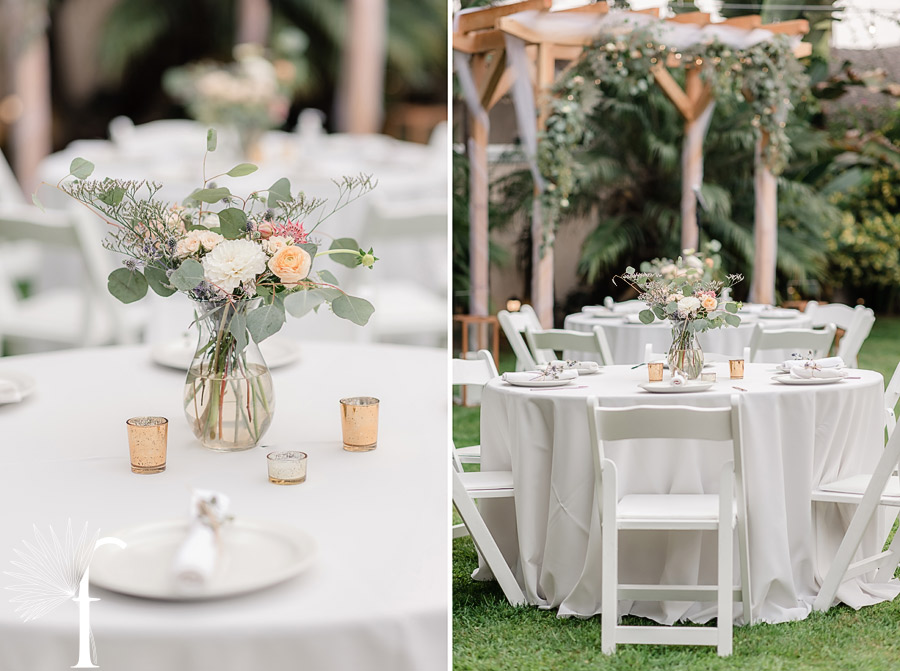 Manhattan Beach Backyard Wedding