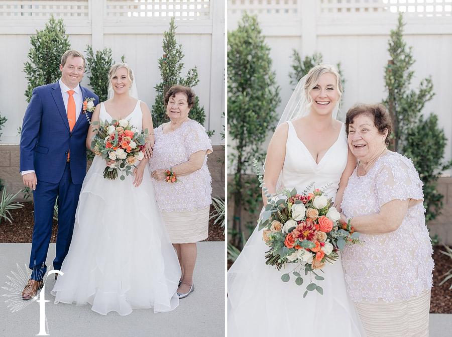 Rolling Hills Estates Backyard Wedding