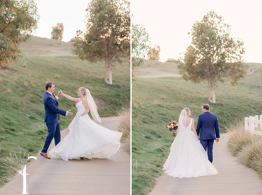 Rolling Hills Estates Backyard Wedding