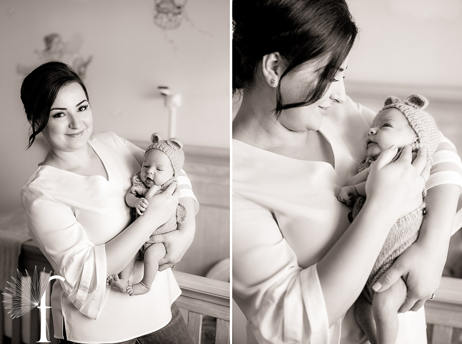 In-Home Baby Portraits | Anna & Gary