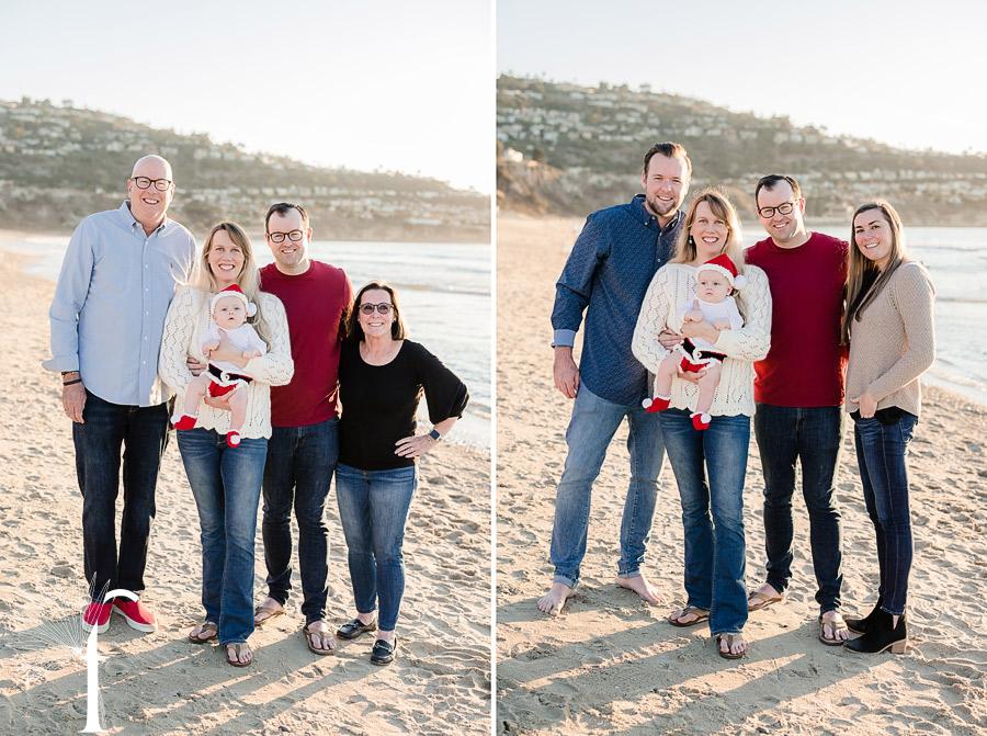 Torrance Beach Family Portraits | Amanda & Drew