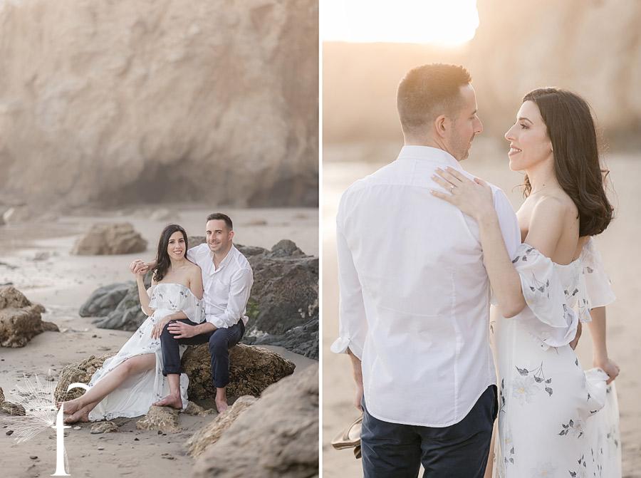 El Matador State Beach Engagement | Erica & Matt