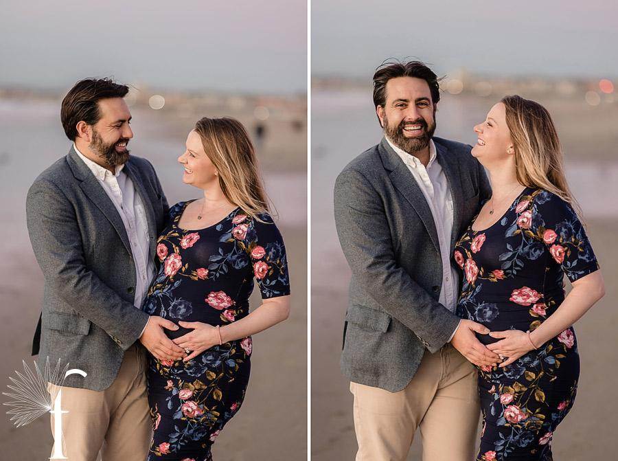 Torrance Beach Maternity Portraits | Cara