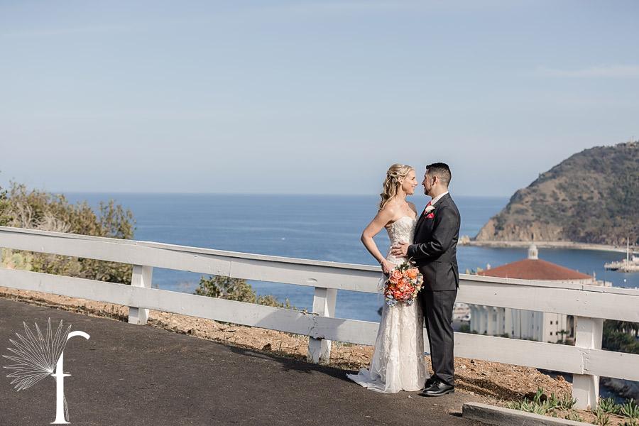 Catalina Wedding Descanso Beach Club   Jolene & Brian