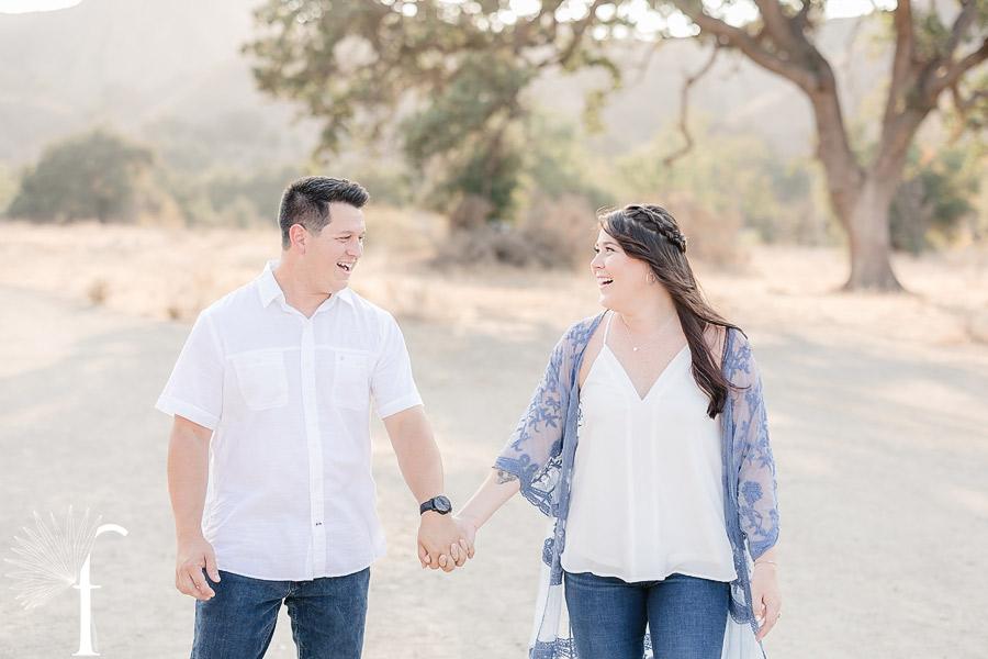Malibu Canyon State Park Engagement | Daniela & Austin