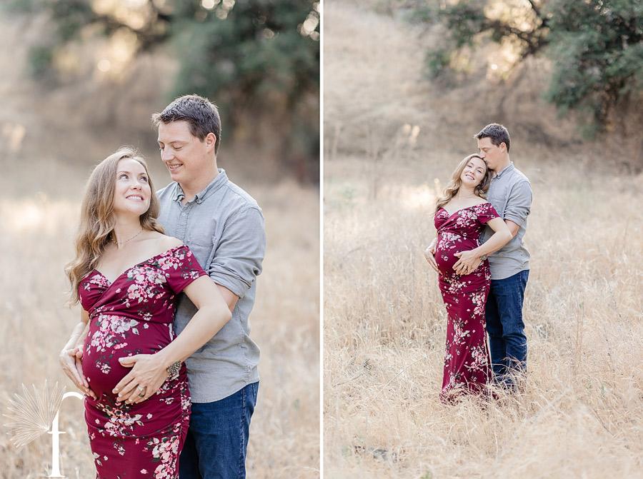 Malibu Creek State Park Maternity Portraits   Brittany & Zach