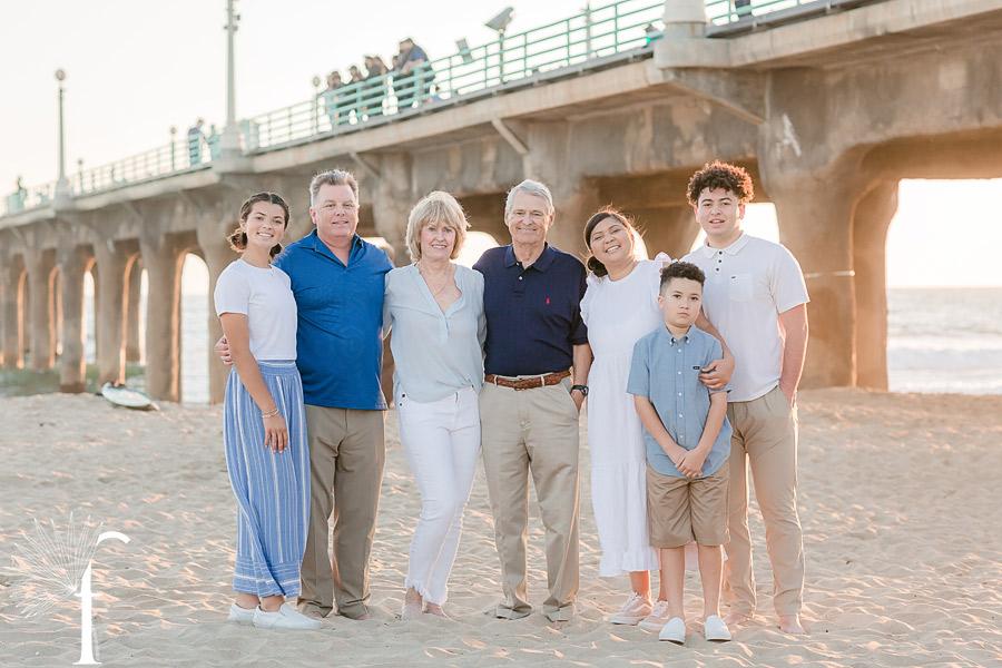 Manhattan Beach Family Portraits   Collins Family