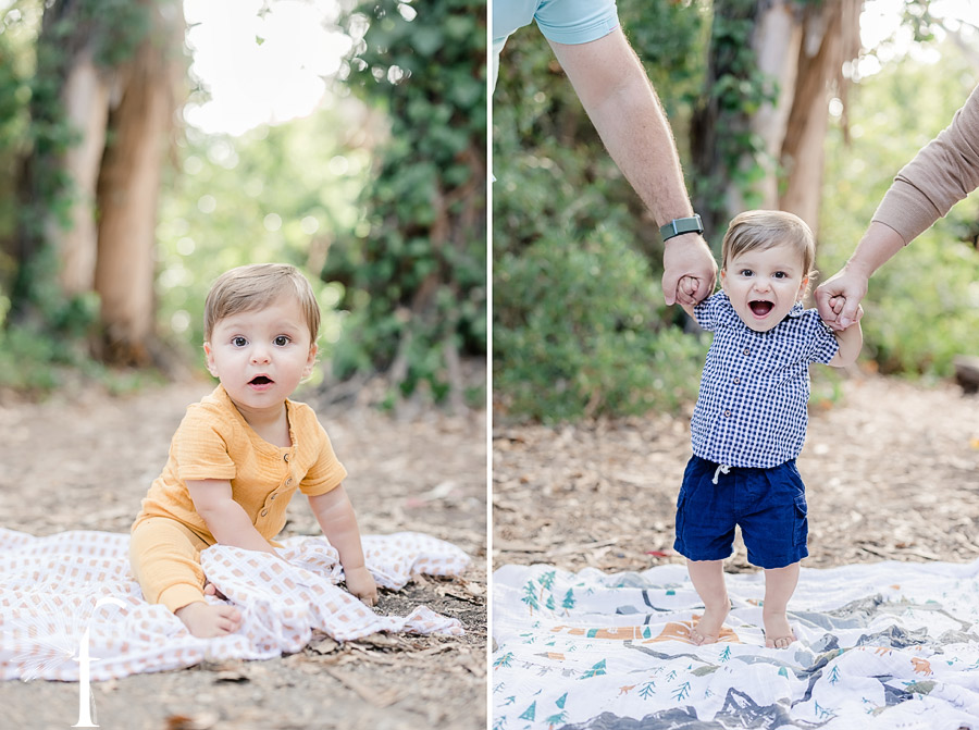 Palos Verdes Family Portraits | Owen's 1st Birthday