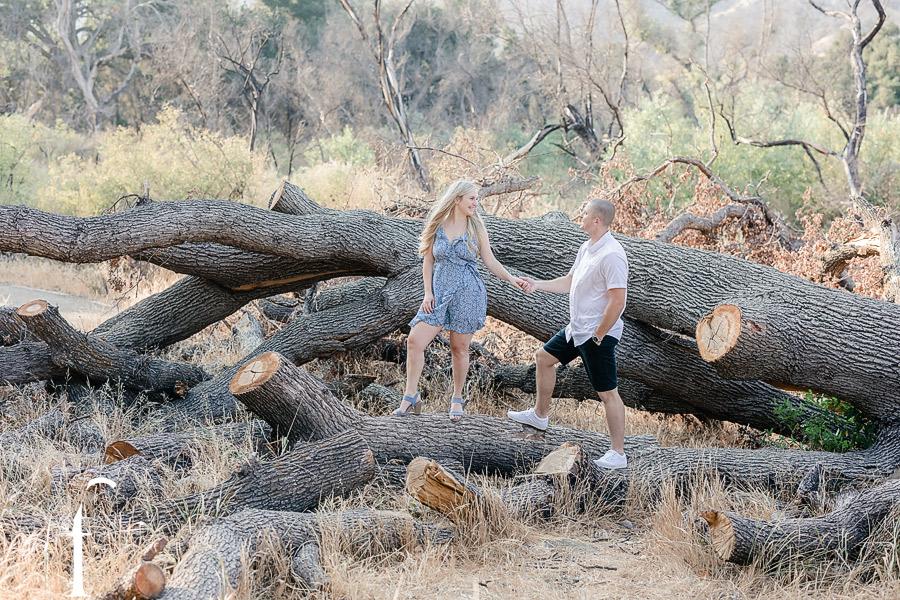 El Matador State Park Engagement   Hayley & Thomas
