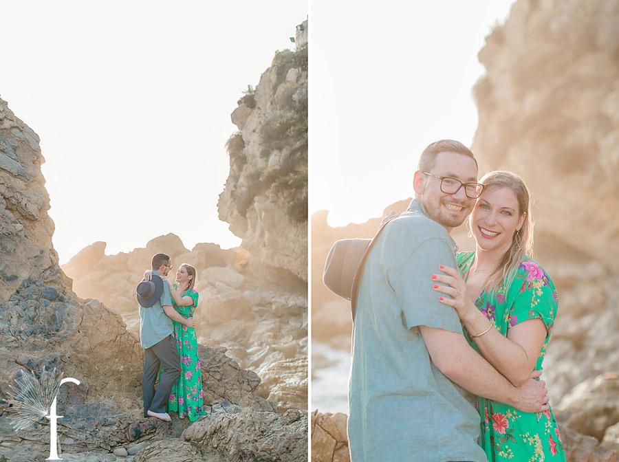 Little Corona Del Mar Engagement | Andie & Adam