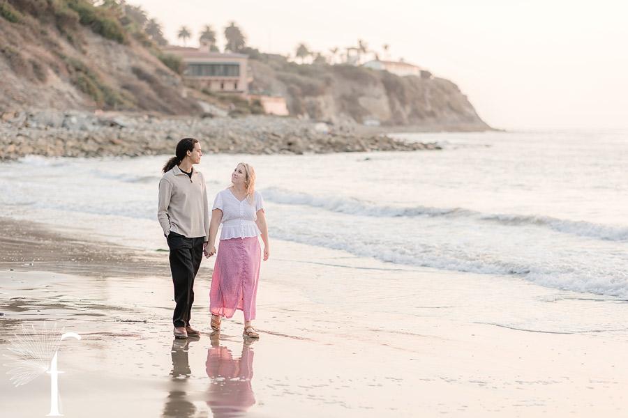 RAT Beach Engagement | Jennifer & James