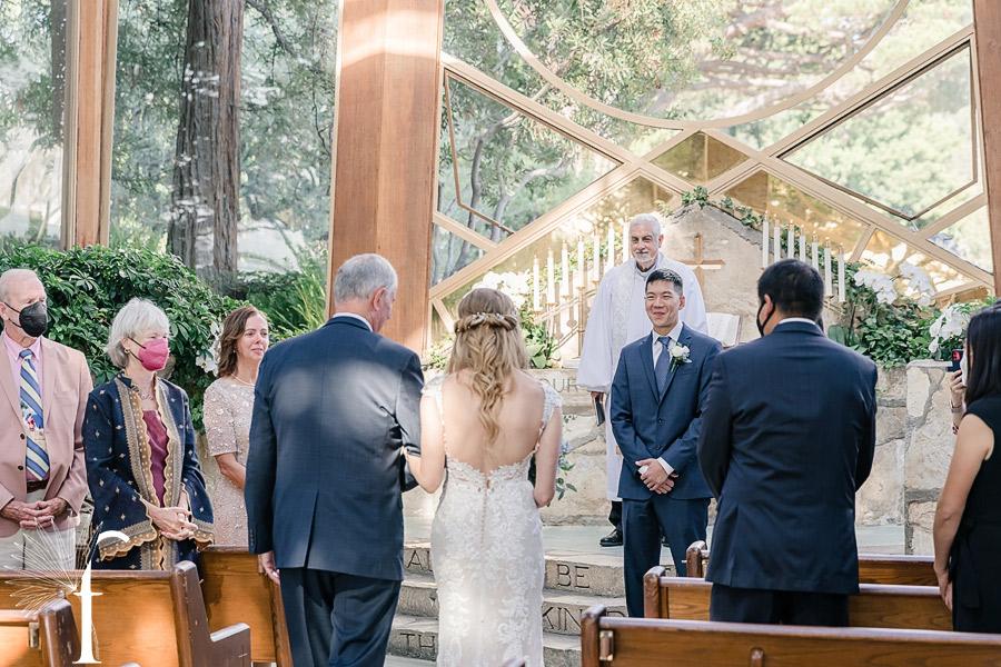 Wayfarers Chapel Wedding | Jennifer & Lawrence